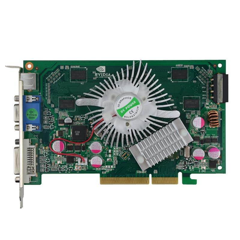 Brand New NVIDIA GeForce 7600GT 512MB DDR2 AGP Solt  8X 4X  VGA DVI Video Card