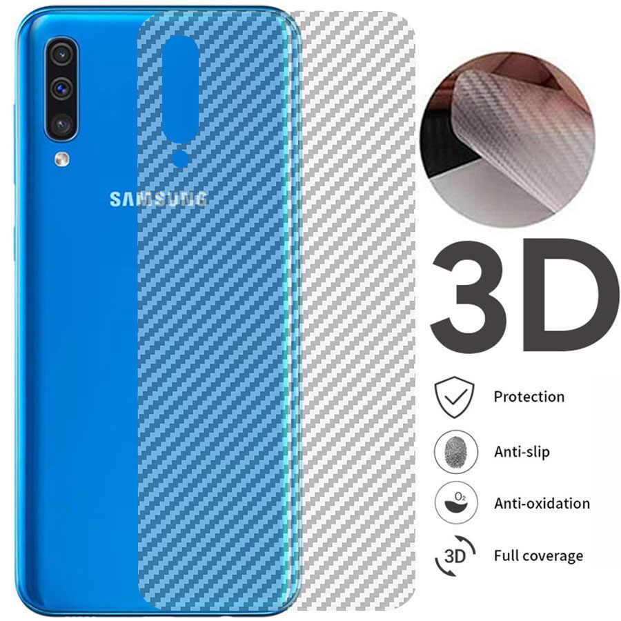 5 Cái/lốc 3D Sợi Carbon Bảo Vệ Màn Hình Trong Cho Samsung Galaxy S20 Cực A50 SM A505FD SM-A305F A51 A71 Lưng Bảo Vệ bảo Vệ Bộ Phim