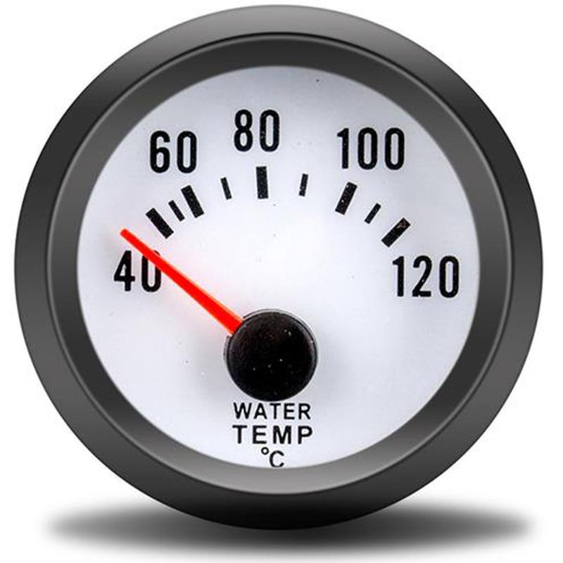 Impermeabile Indicatore Del Misuratore Di Livello Del Serbatoio Del Carburante Del Puntatore Da 52 Mm 9-32 V Da 2 Pollici 0-190 Ohm Con Kit Sensore