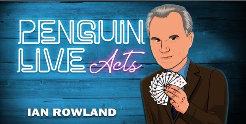 Ian Rowland Penguin Live ACT