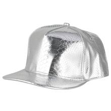 PU Leather Baseball Cap Hip Hop Caps Gorras Snapback Hat Solid Silver Biker Trucker Hats for Men Women 2019 New Fashion стоимость