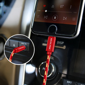 Image 5 - VOXLINK Aux Car Cable For iPhone X XS XR 8 7 plus 1M/3FT 8 Pin to 3.5mm Male Jack Audio Cable For iPhone 7 6 Speaker Headphone