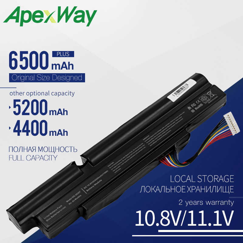 Apexway 6 Cells Dành Cho Laptop Acer ASPIRE TimelineX 4830TG 5830T 3830TG 4830T 5830TG 3830T 3INR18/65-2 AS11A3E AS11A5E