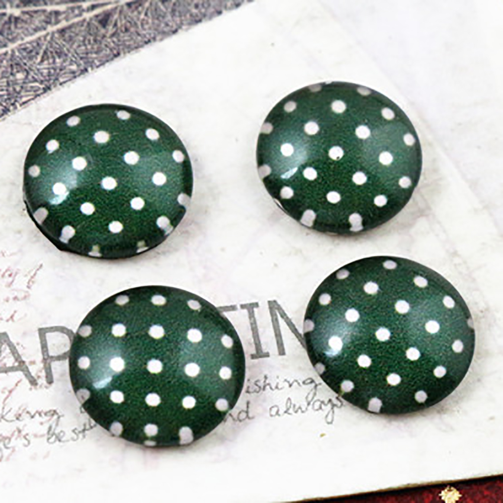New Fashion  20pcs 12mm Handmade Photo Glass Cabochons E3-40