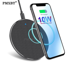 10W Fast Wireless Charger For Samsung Galaxy S10 S9 Note 10 USB Qi Charging Pad for iPhone 11 Pro XS Max XR X 8 Plus Huawei P30 10w fast wireless charger for samsung galaxy s10 s9 s9 s8 note 10 usb qi charging pad for iphone x xs 8 xiaomi