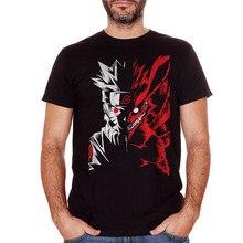 Cuc T-Shirt Coffbeats Naruto Manga Hokage Volpe Nove kod Itachi odzież Plus Size Tee koszula