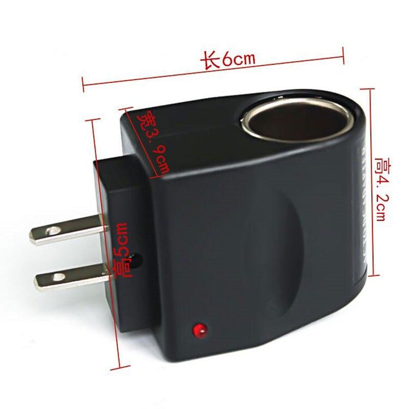 ABŞ-dan 12V-lik ev avtomobil şarj adapteri üçün siqaret - Cib telefonu aksesuarları və hissələri - Fotoqrafiya 2