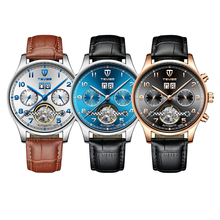 TEVISE Mens Classic Automatic Mechanical Watch