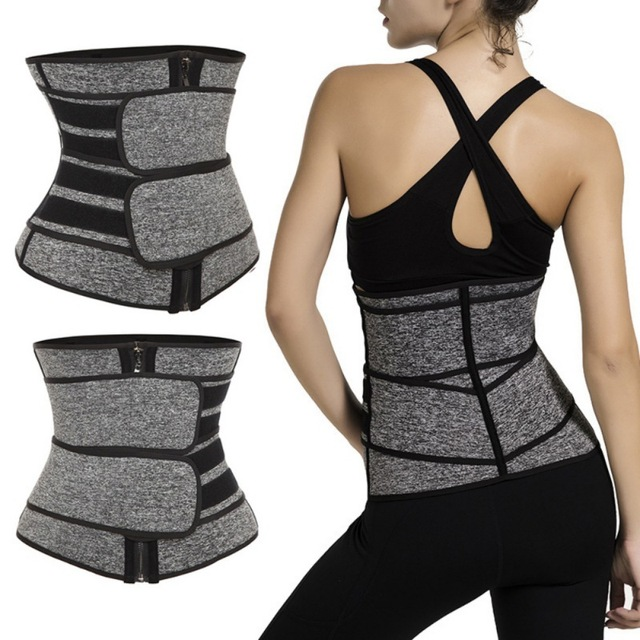 Waist Trainer Corset Sweat Belt Women Weight Loss Compression Trimmer Fitness Gym corset Women's Intimates 3