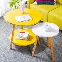 Деревянный журнальный столик для гостиной, диван-столик, маленький обеденный стол, чайный столик, домашняя Бытовая уличная мебель