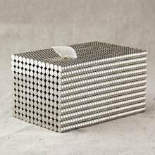 50 pces 4x2mm forma redonda terra rara neodímio ímã magnético super forte ndfeb