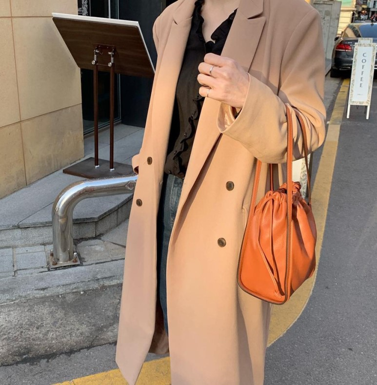 H72f88ccbf60c462bae76c4a9e2289acfC - Winter Revers Collar Double Breasted Loose Woolen Overcoat