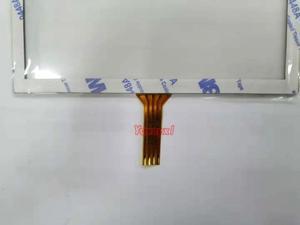 Yqwsyxl, новинка, 5 дюймов, 4 провода, резистивный сенсорный экран, панель, стекло, 117x89 мм, для 5 дюймов, TFT, ЖК-дисплей, ZJ050NA-08C, замена экрана