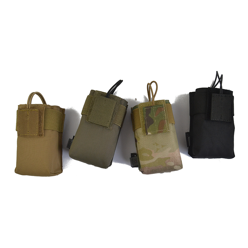 Delustered T-Y-R Tactical XTS Radio Pouch TW-P061