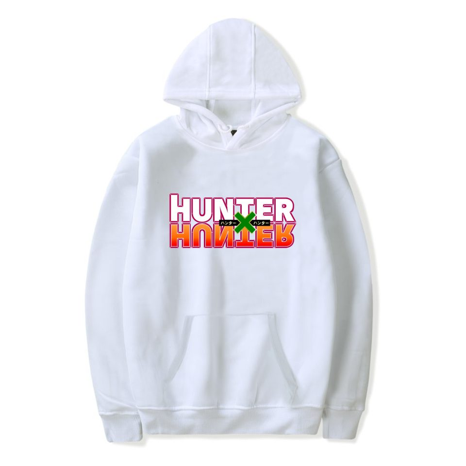 Harajuku Hunter X Hunter Hoodie Men Sweatshirt Tracksuit Women Hooded Top Sweatshirt Anime Hunter X Hunter Print Five Colors