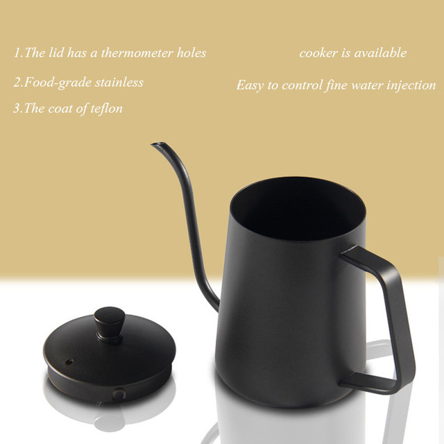 Drip Kettle For Precision Coffee Pouring 3