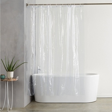 Curtain Waterproof Bathroom-Supplies Shower Transparent PEVA Simple