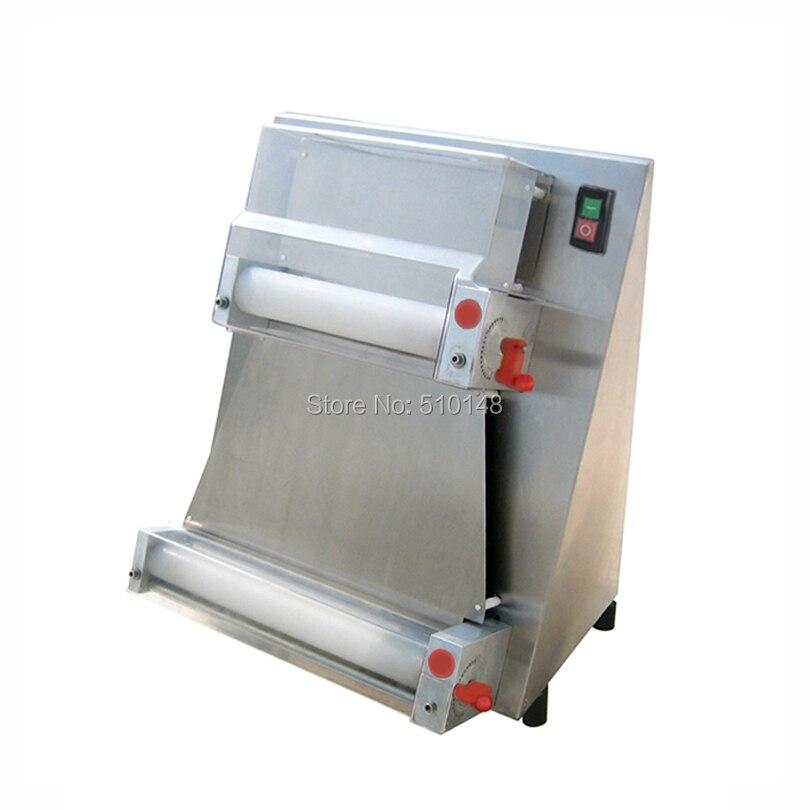 Купить с кэшбэком Chef Prosentials DR-1V Electric Dough Roller 15 inch pizza press sheeter machine CE