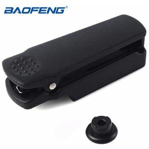 Image 1 - Original baofeng UV 9R clipe de cinto para baofeng walkie talkie à prova dwaterproof água UV XR A 58 UV 9R plus GT 3WP UV 5S série rádio em dois sentidos