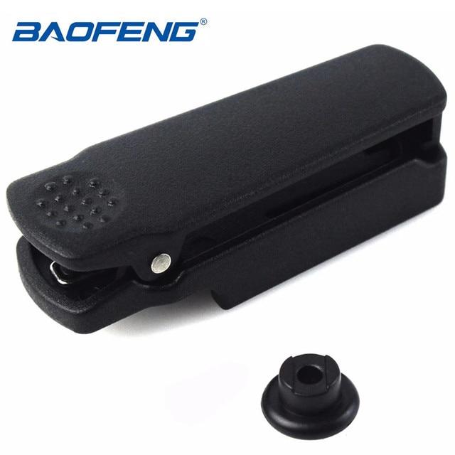 Original baofeng UV 9R clipe de cinto para baofeng walkie talkie à prova dwaterproof água UV XR A 58 UV 9R plus GT 3WP UV 5S série rádio em dois sentidos