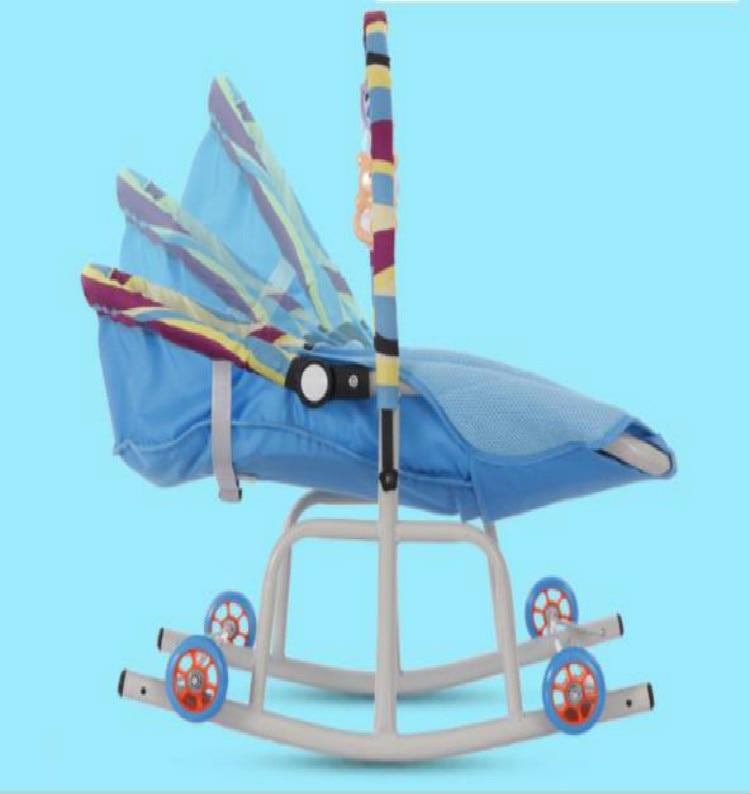 H72f95c0893574fca97d78541b8c52f62b Baby  Rocking Chair Music Nursery Child Toy Rocking Chair Baby Rocking Horse Infant Seat Bouncer Swing Cradle Recliner Bouncer