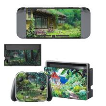 My Neighbor Totoro Nintendo Switch Skin Sticker NintendoSwitch stickers skins for Nintend Switch Console and Joy Con Controller