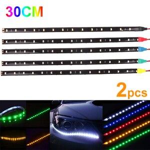 2Pcs Waterproof Car LED Strip