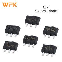 Transistor IC Voltage-Regulator SOT-89 CJ78L05 CJ79L06 10pcs 5V 6V Triode Positive