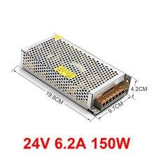 Controlador LED de voltaje 24 V CC, 25 W, 48 w, 100 W, 480 w, 5A, 10A, 30 a, módulo de fuente de alimentación ajustable