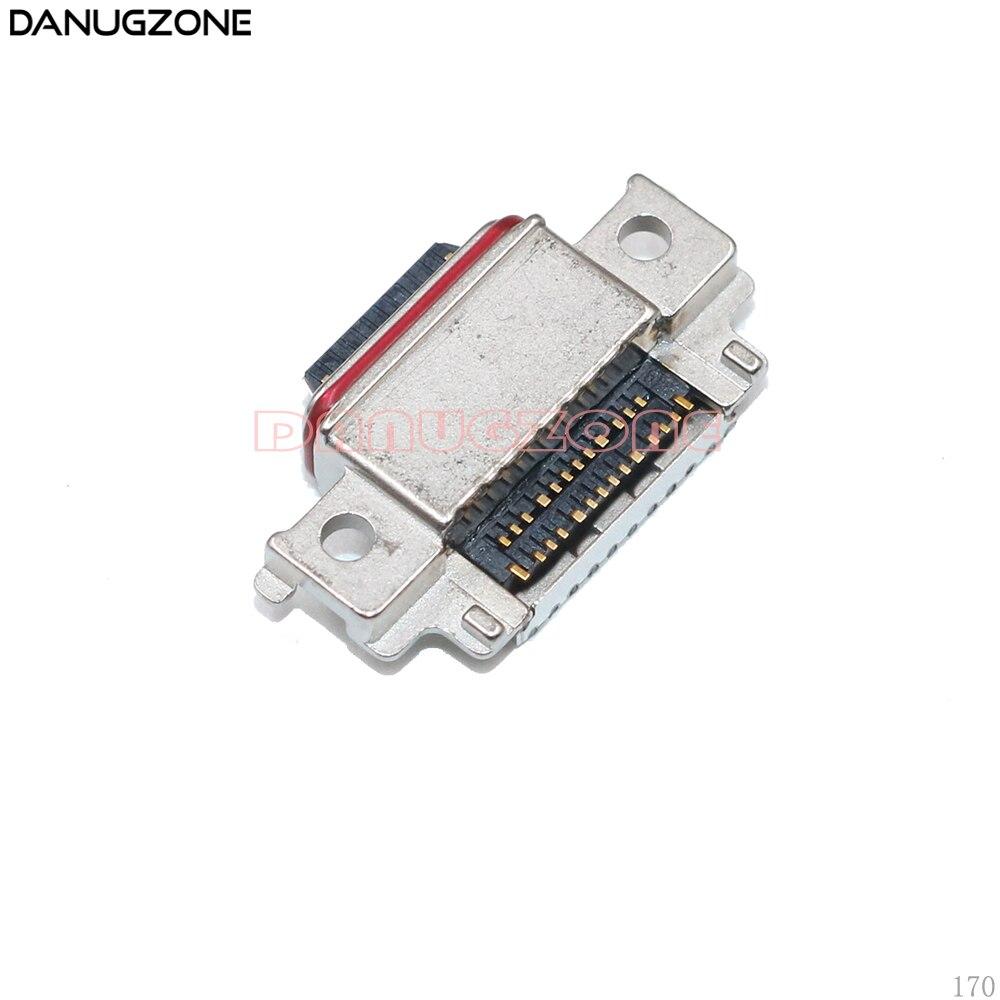 10PCS/Lot For Samsung Galaxy A530 A730 / A8 2018 A830 / A8 Plus A8+ / A6 A6+ USB Charge Port Connector Charging Dock Socket Jack