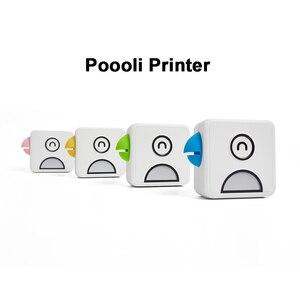 Image 1 - Poooli L1 L2 kuş cep cep taşınabilir Mini 300 Dpi fotoğraf yazıcısı öğrenci yanlış konu sıralama baskı resim listesi afiş