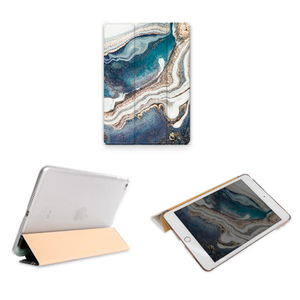 Image 4 - Trifold Case for iPad Air 3 2 2018 9.7 inch Mini 5 4 3 2 Flowing Sand Smart cover Case for ipad pro 12.9 2020 pro 11 10.5 9.7