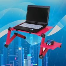 Aluminiowy komputer przenośny biurko dormitorium składane biurko leniwy osoba biurko komputerowe biurko łóżko biurko tanie tanio NoEnName_Null CN (pochodzenie)