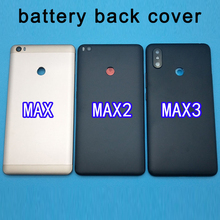 For Xiaomi Mi MAX 3 Battery Cover Rear Door Back Housing Case MAX3 Middle Chassis For Max2 Xiaomi Mi Max 2 Battery Cover Replace