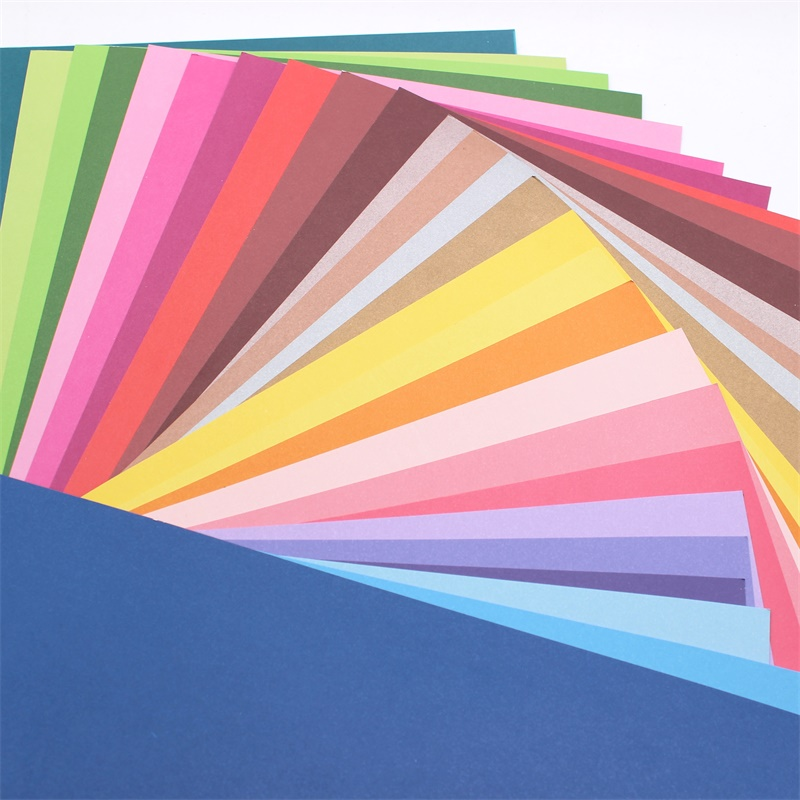KSCRAFT 28 Sheets Of Colored A4 Cardboard 250GSM With Adhesive Perfect For Card / Paper Crafts