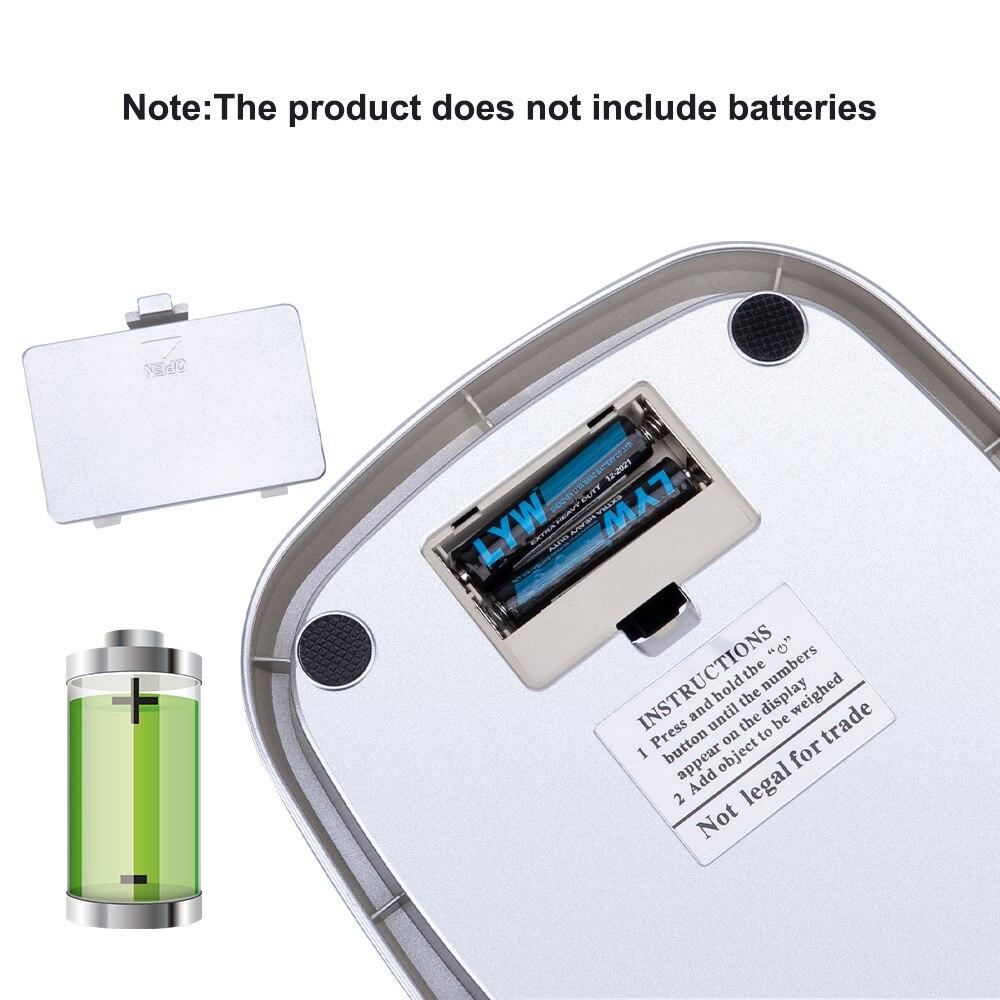 Принимает массу весом до 5 кг/10 г 1 г/0,1 г цифровые весы инструменты для Портативный ЖК-дисплей электронный безмен Кухня Весы Почтовый Еда весы измерительная Вес весы-5