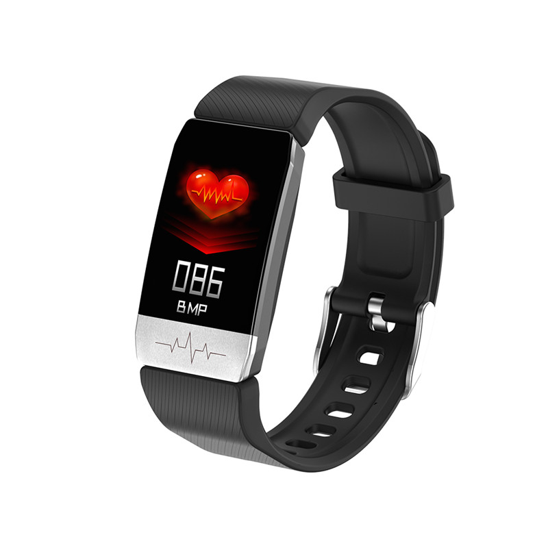 T1 Smart Bracelet Pedometer Color Screen Heart Rate Smart Wristband Watch Sleep Fitness Tracker Monitor for IOS Android