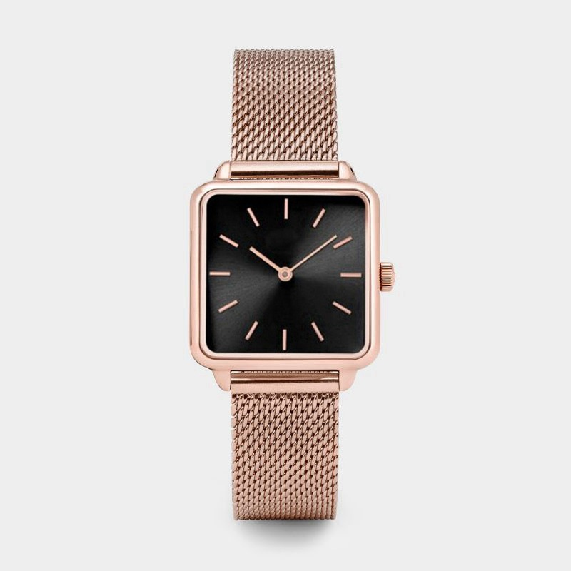 Top Brand Square Women Bracelet Watch Gold Luxury Wrist Watches For Women Girl Fashion Quartz Watch Dress Ladies Quartz Clock