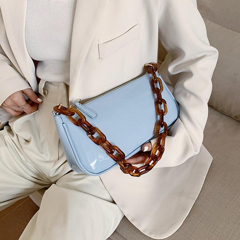 Retro Totes Women Small Shoulder Bag Lady's Vintage Messenger Bag Fashion Subaxillary Bags Luxury Brand Women Baguette Bag