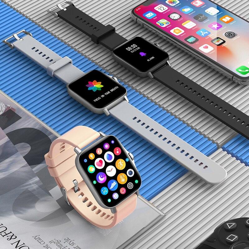 H72fb42d7a57440e196d6a2298a2acc00j For Xiaomi Apple Phone IOS Reloj Inteligente Hombre Smartwatch 2021 Men Bluetooth Call Smart Watch Man Woman Full Touch IP68