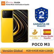 POCO M3 – Smartphone, Version globale, 4 go 64 go, Snapdragon 662 Octa Core, écran 6.53 pouces DotDrop, Triple caméra 48mp, batterie 6000mAh