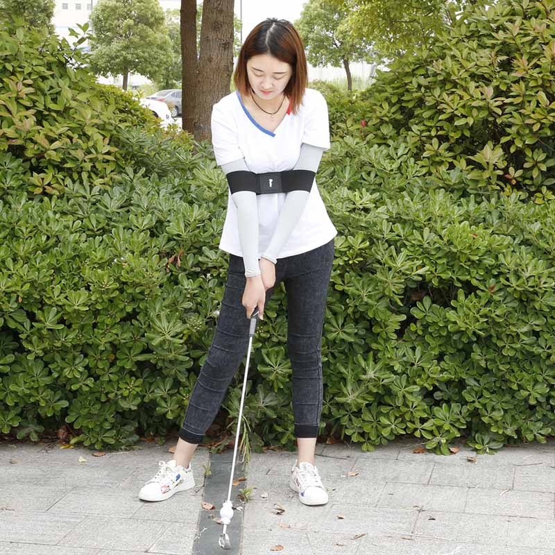 Golf Smooth Swing Training Arm Band Golf Hand Posture Corrector Training Belt ENA88