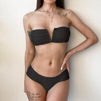 DJ314403-Sexy Women Bikini Thong Swimsuit