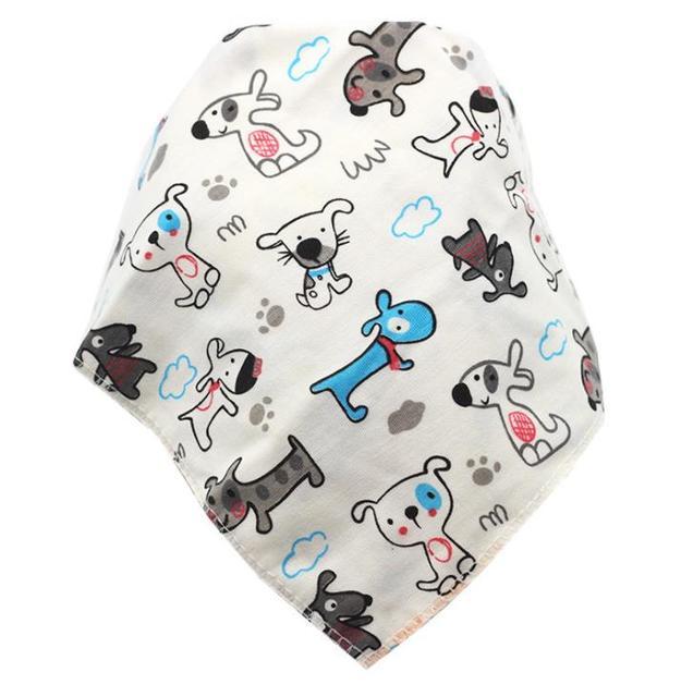 Baby Bibs Waterproof Triangle Cotton Cartoon Child Baberos Bandana Bibs Babador Dribble Bibs Newborn