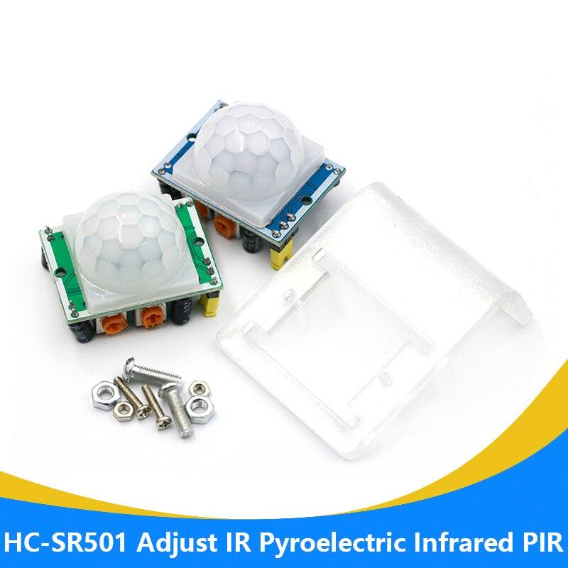 1 шт. HC SR501 инфракрасный датчик движения PIR модуль детектора для arduino для raspberry pi наборы|Запасные части|   | АлиЭкспресс