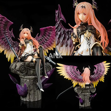 29CM Rage of Bahamut Figure Dark Angel PVC Dark Knight Action Sexy Girls Demon Figure Collectible Model Toys For Children Gift free shipping kotobukiya rage of bahamut dark angel olivia ani statue sexy pvc action figure collectible toy 29cm no box