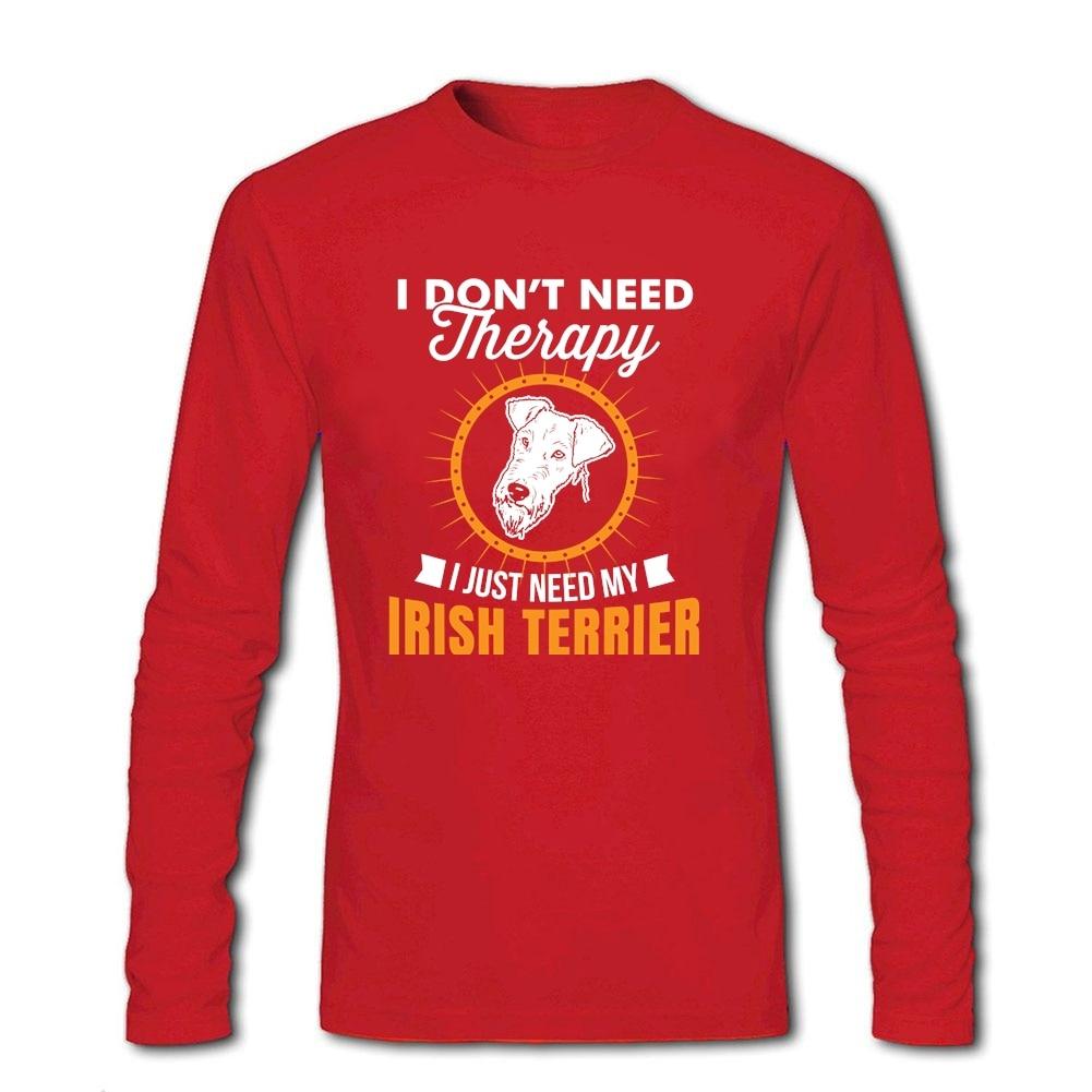Irish Terrier T-Shirts Round-Neck Short sleeved Ladies /& Men/'s sizes