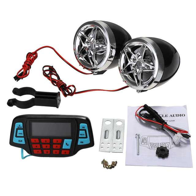 Motorcycle Audio Sound System 5