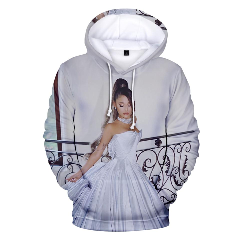 2019 New 3D Ariana Grande Thank U Next Hoodies Sweatshirt Women/Men Women Casual 3D Ariana Grande Hoodies Sweatshirts XXS-4XL