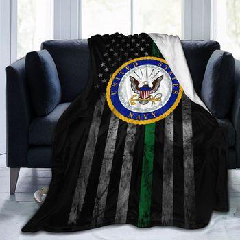 US Navy Department Seal Ultra Soft Cozy Throw Lightweight Micro Flannel Fleece Sofa All Season Living Room/Bedroom Warm Blanket